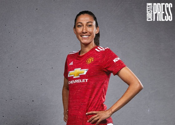 slammers Christen Press Manchester United